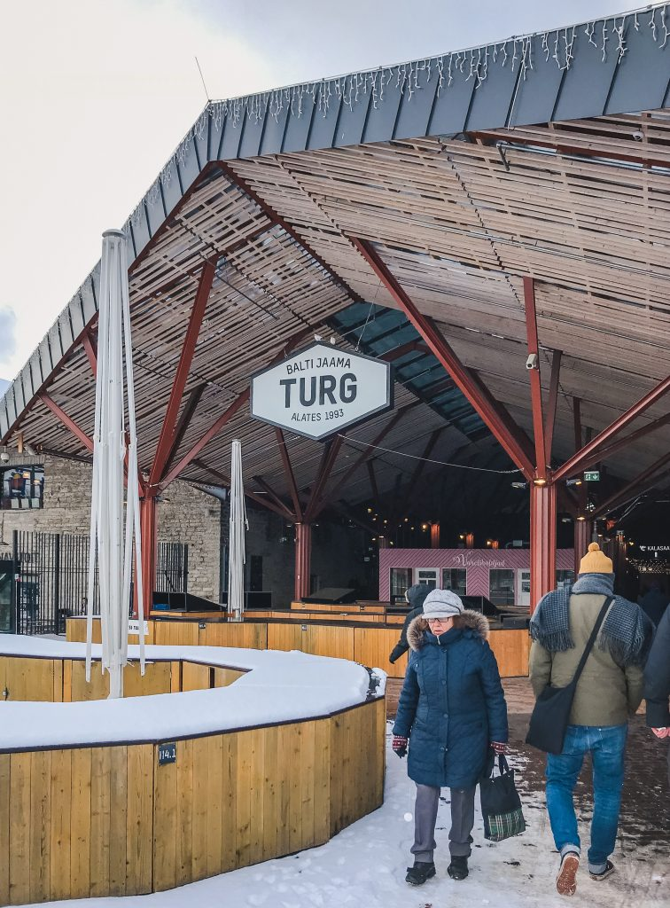 Don't miss a visit to Balti Jaama Turg, the street food market of Tallinn