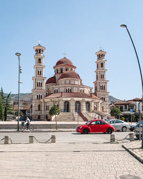 Driving in Albania can be a challenge due to some particularly crazy driving. Korce is one Albanian city that you might encounter when you rent a car in Albania.
