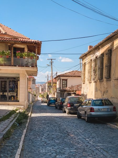 Renting a car is definitely the easiest way to travel around Albania, especially if you want to visit cities like Korce.