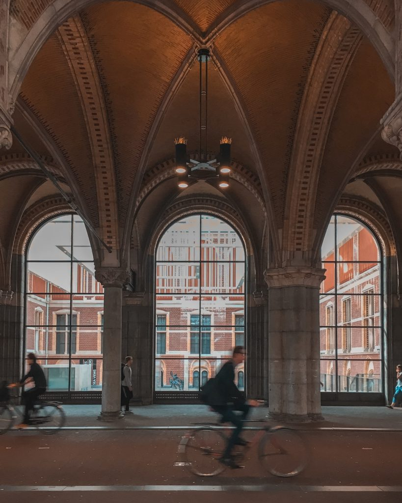 The Rijksmuseum, both inside and out, is one of the most beautiful places in Amsterdam. A definite must visit when you only have one day in Amsterdam!
