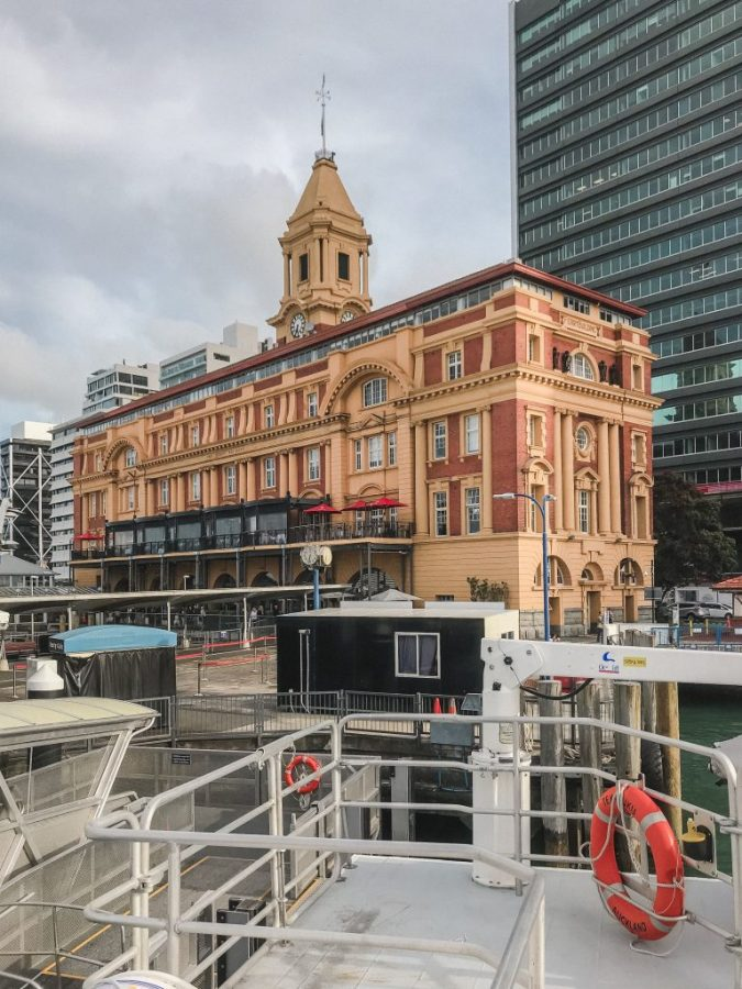 The Ferry Building is a must visit when you have one day in Auckland