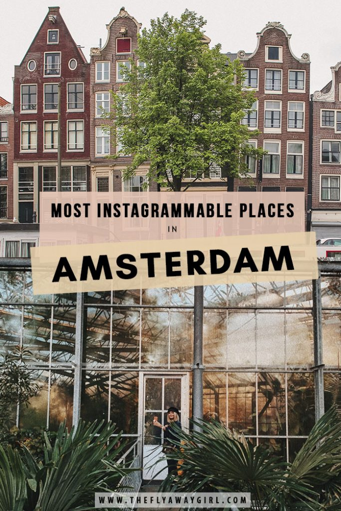 Amsterdam is often called the 'Venice of the North' due to its beautiful canals and bridges. Whether you have one day in Amsterdam or a week, here are all the most instagrammable places in Amsterdam!