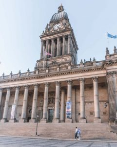 Leeds Town Hall is one of the best examples of Victorian architecture in Leeds