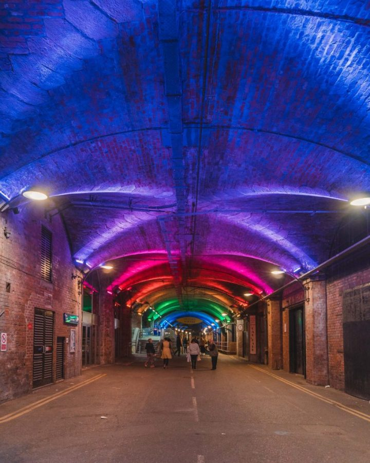 The Dark Arches is one of the best photoshoot locations in Leeds