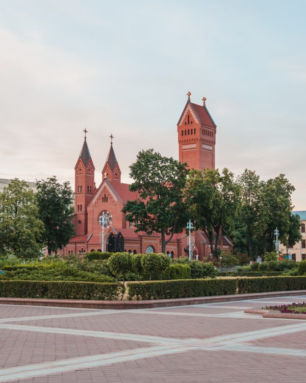 Minsk is home to some beautiful churches - don't miss a visit to Independence Square to see the Church of Saints Simon and Helena