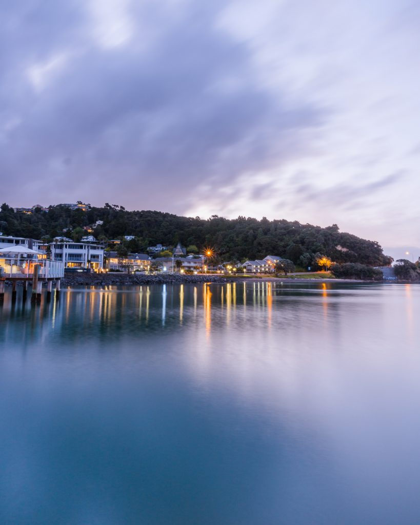 Paihia is a beautiful town in the north of the North Island, New Zealand