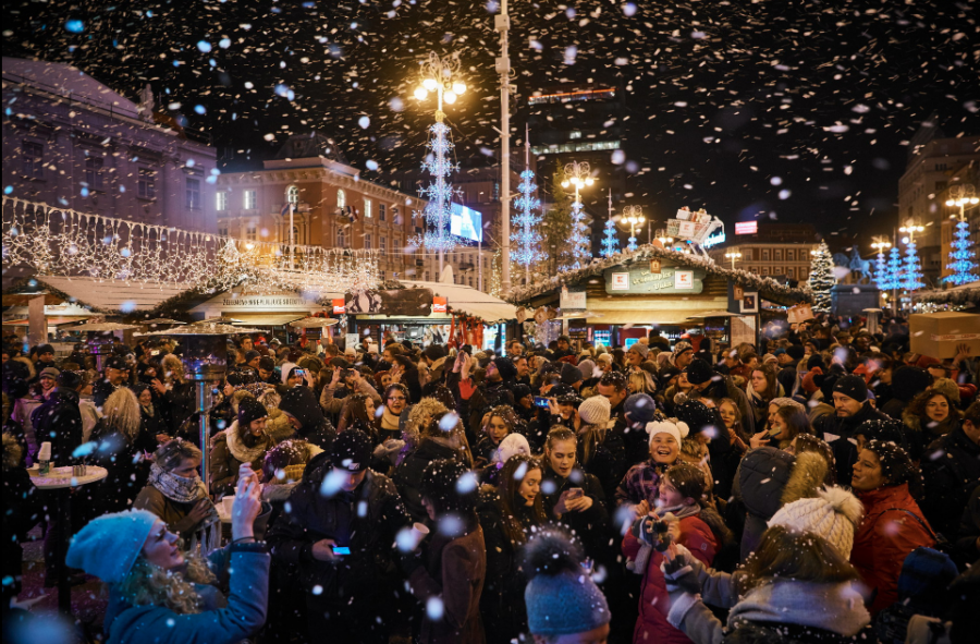 Zagreb Christmas market has been voted as the best Christmas market in Europe for three years running.
