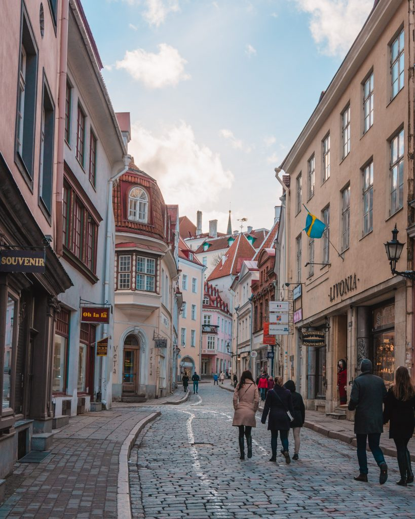Tallinn is an incredibly walkable city but you can also travel by local buses and trams or using taxis.
