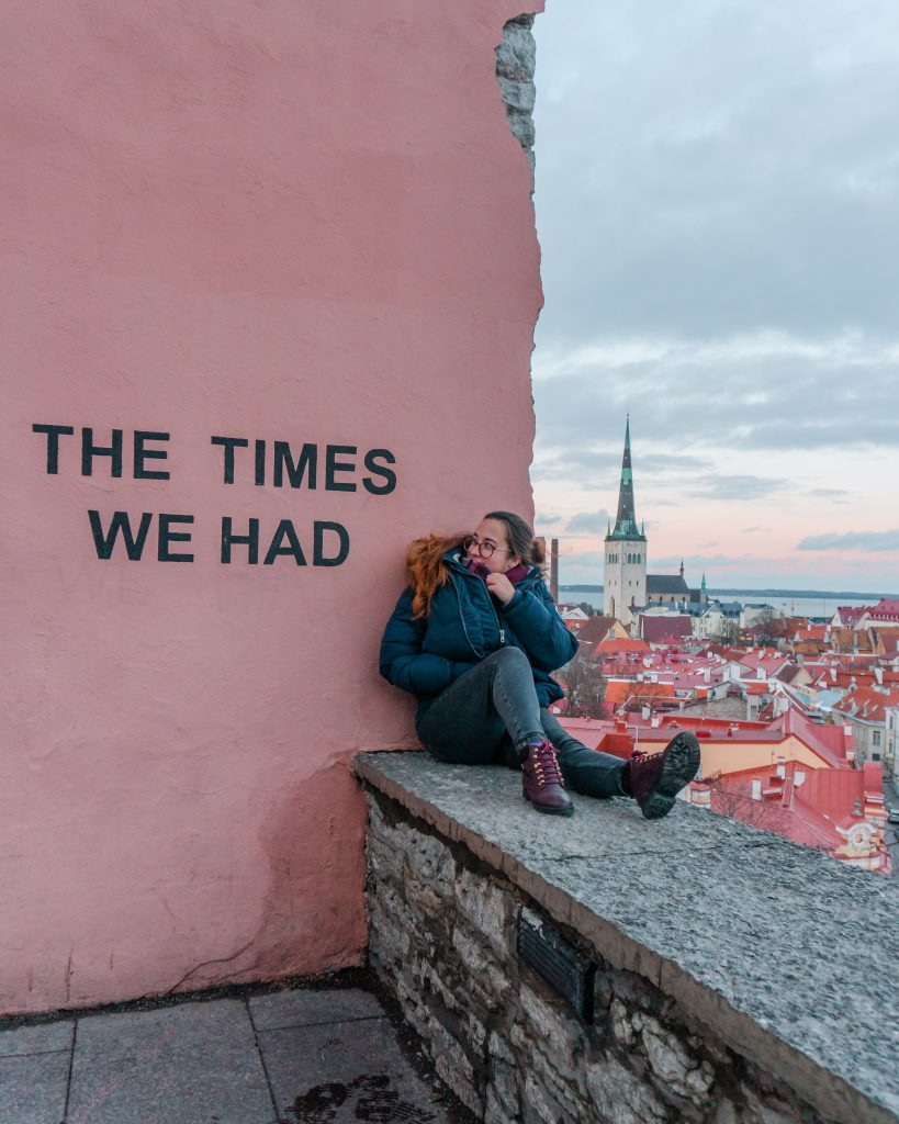 The Kohtuotsa viewing platform is one of the most instagrammed spots in Tallinn. It provides amazing views over the old town.