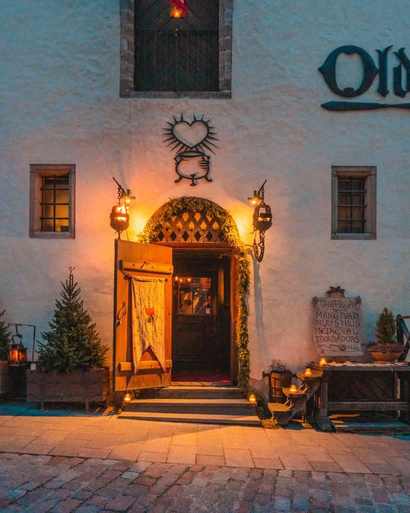The best food in Tallinn is possibly Olde Hansa, an excellent medieval style restaurant in the heart of the Estonian capital.