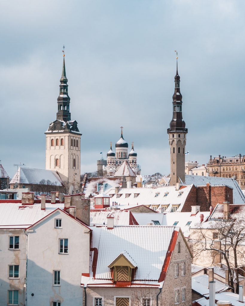 The view from the Hellemann Tower is an amazing opportunity to see over Tallinn from the medieval town walls. Add this to your Tallinn itinerary!