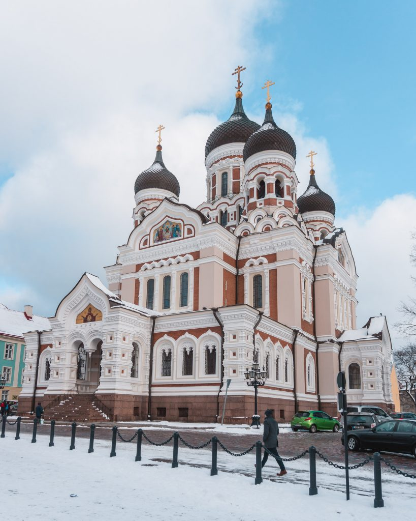 During two days in Tallinn, make sure to visit the amazing Alexander Nevsky Cathedral.
