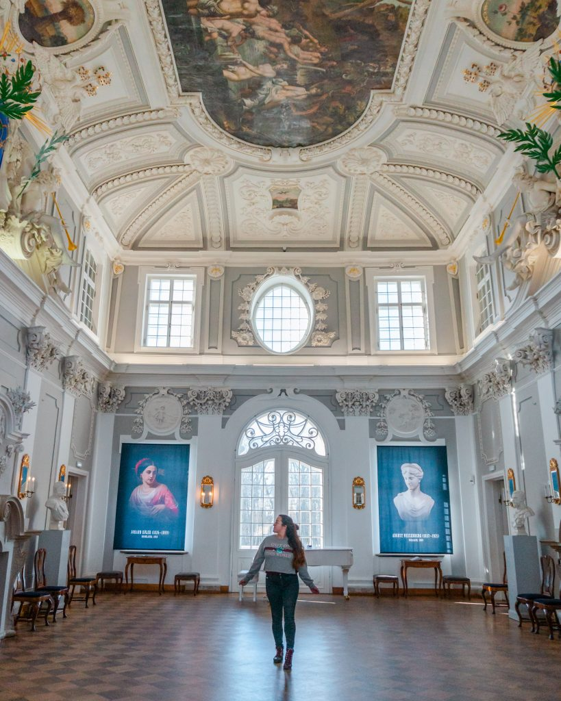 The interior of Kadriorg Palace is one of the most beautiful places in Tallinn!