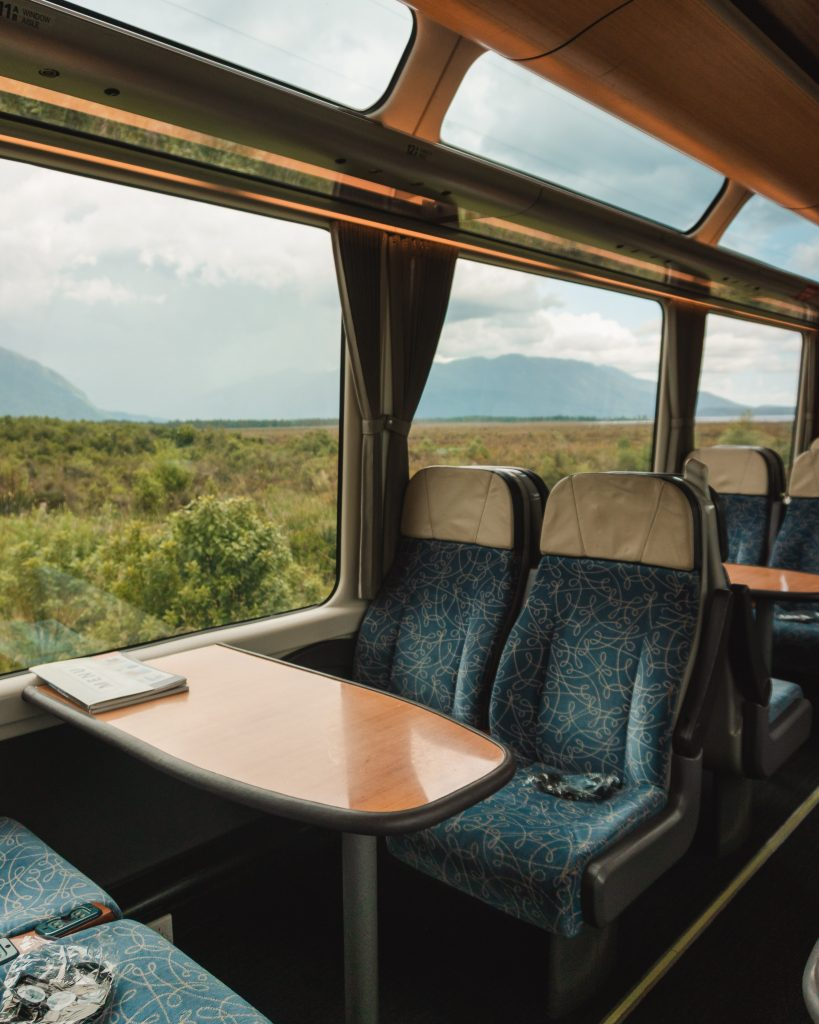 The views from the TranzAlpine train are incredible and a must do when in New Zealand!