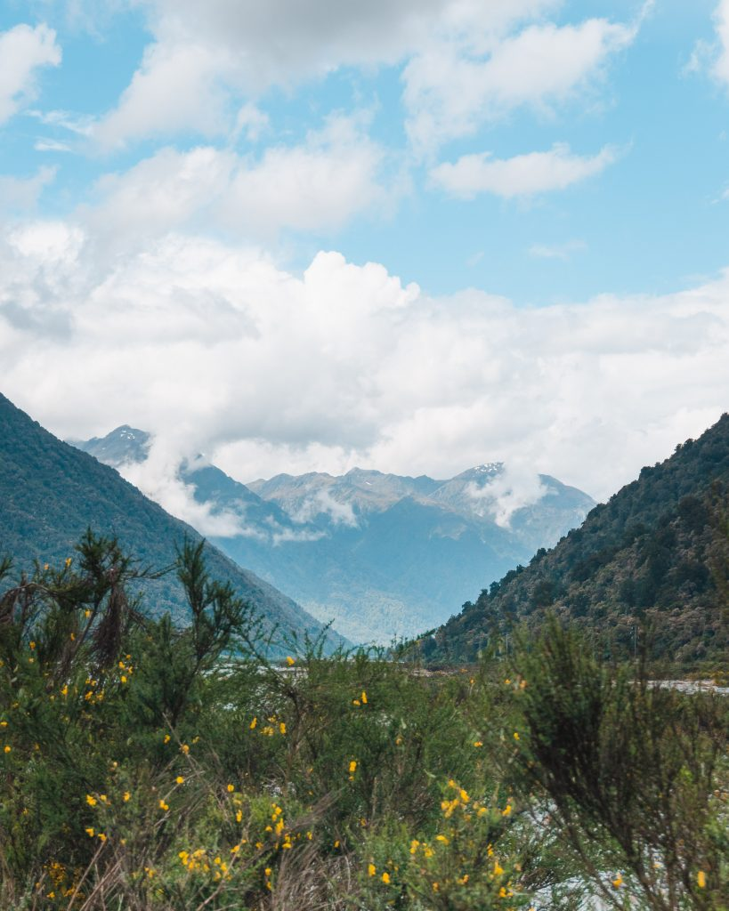 The mountains you see after the Otira Tunnel are a scenic part of the TranzAlpine journey