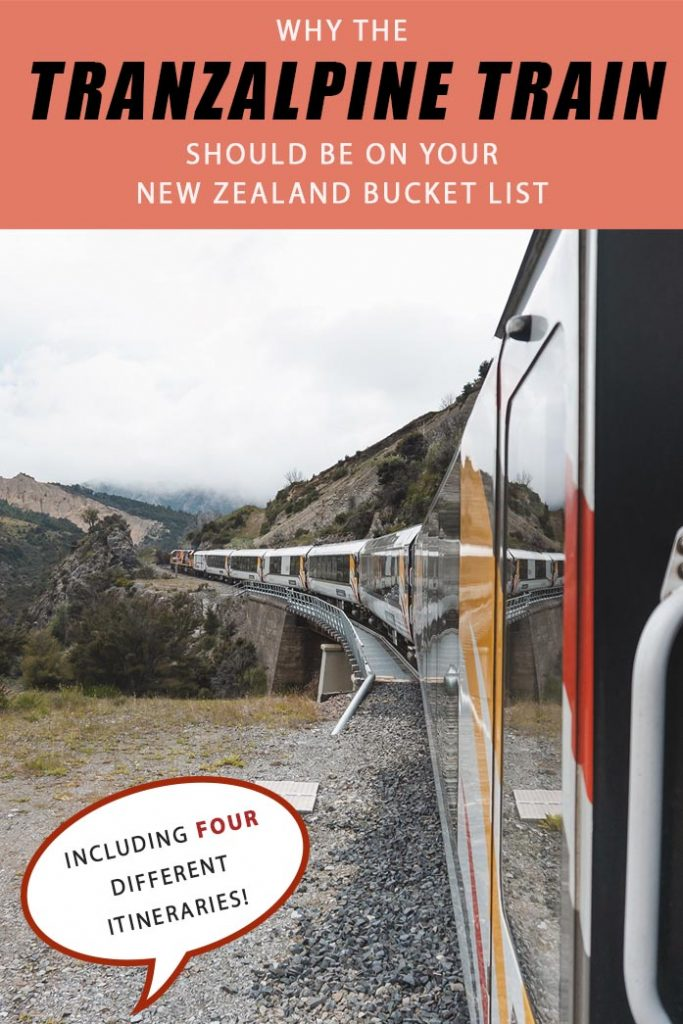 Looking to do one of the most scenic rail journeys in New Zealand by train? Here is all the information you need to know about the TranzAlpine Train Journey from Christchurch to Greymouth! Including four different itineraries including day trips and hiking trips, this is the ultimate guide to the Tranzalpine railway in New Zealand South Island!