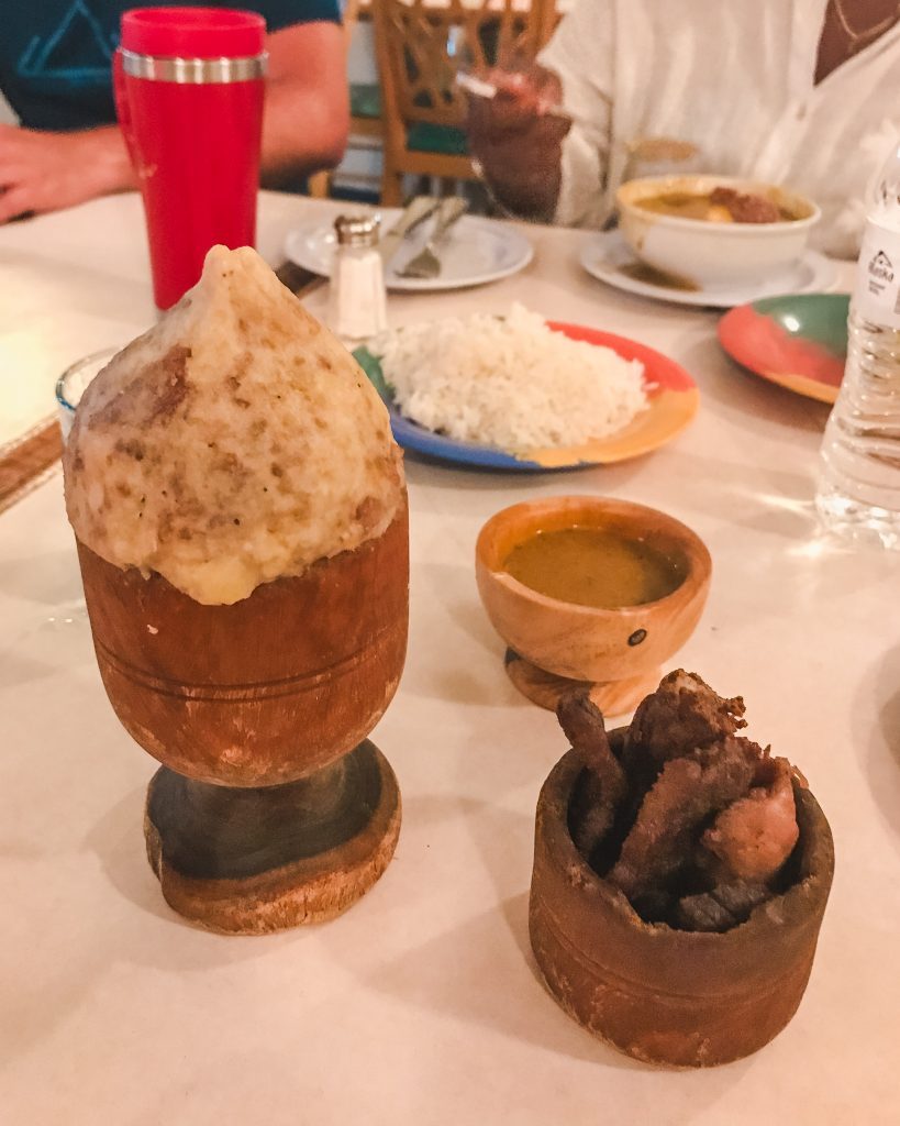 Mofongo is a must try food in the Dominican Republic! Dont miss trying it at Adrian Tropical in Santo Domingo.