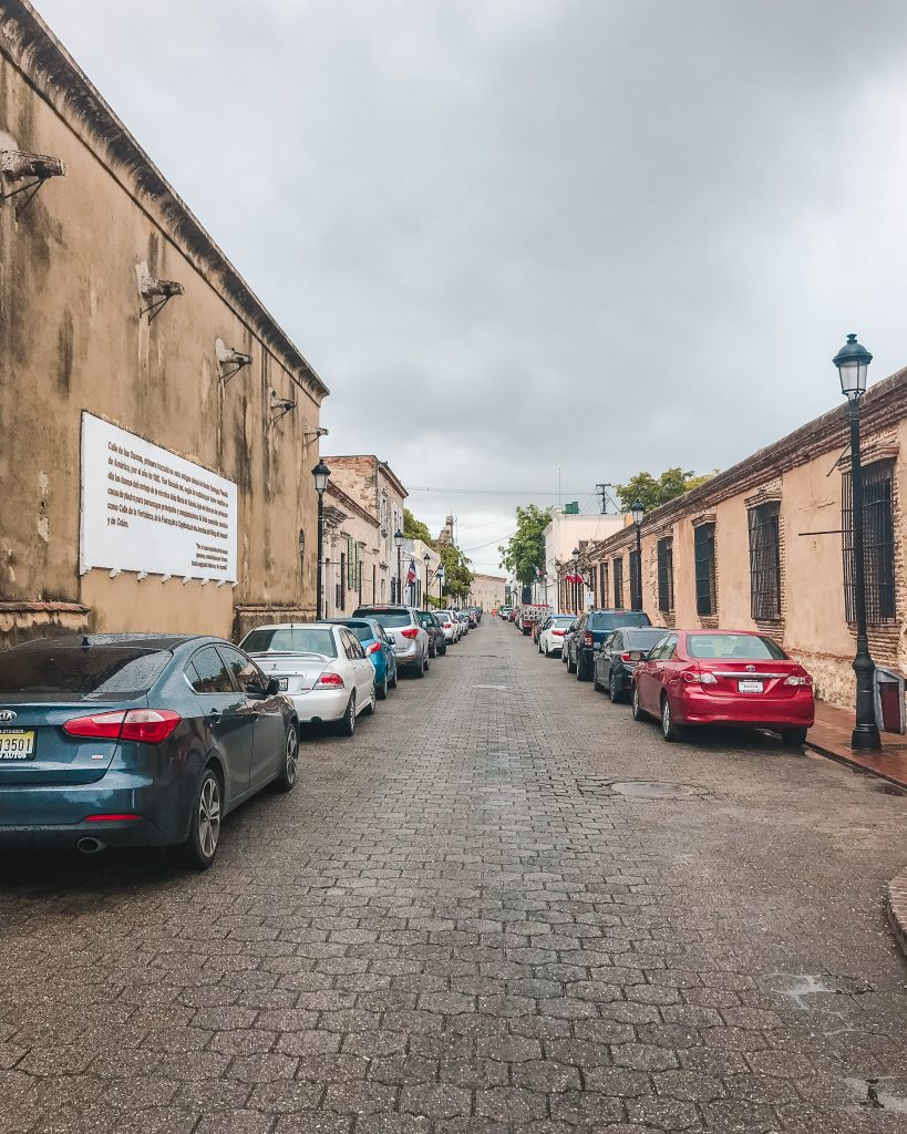 Calle las Damas is the oldest street in the Americas, located in Santo Domingo in the Dominican Republic