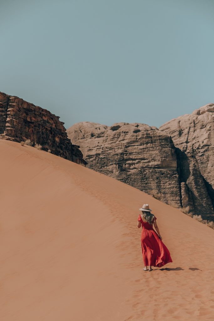 Wondering where to travel in 2019? Add Jordan to your list and visit the magical Wadi Rum Desert. Camp under the stars in a Bedouin-style tent or go camel trekking through the desert.