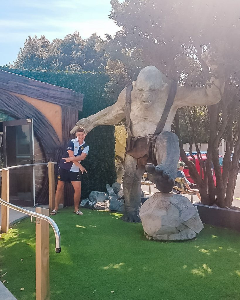 Don't miss a visit to the amazing Weta Cave Workshop when you are in Wellington