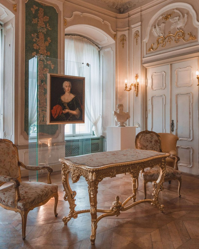 Each room in Ksiaz Castle was renovated to its original glory