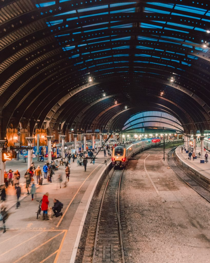 York is easily accessible from the rest of the UK thanks to its extensive rail connections around the country.