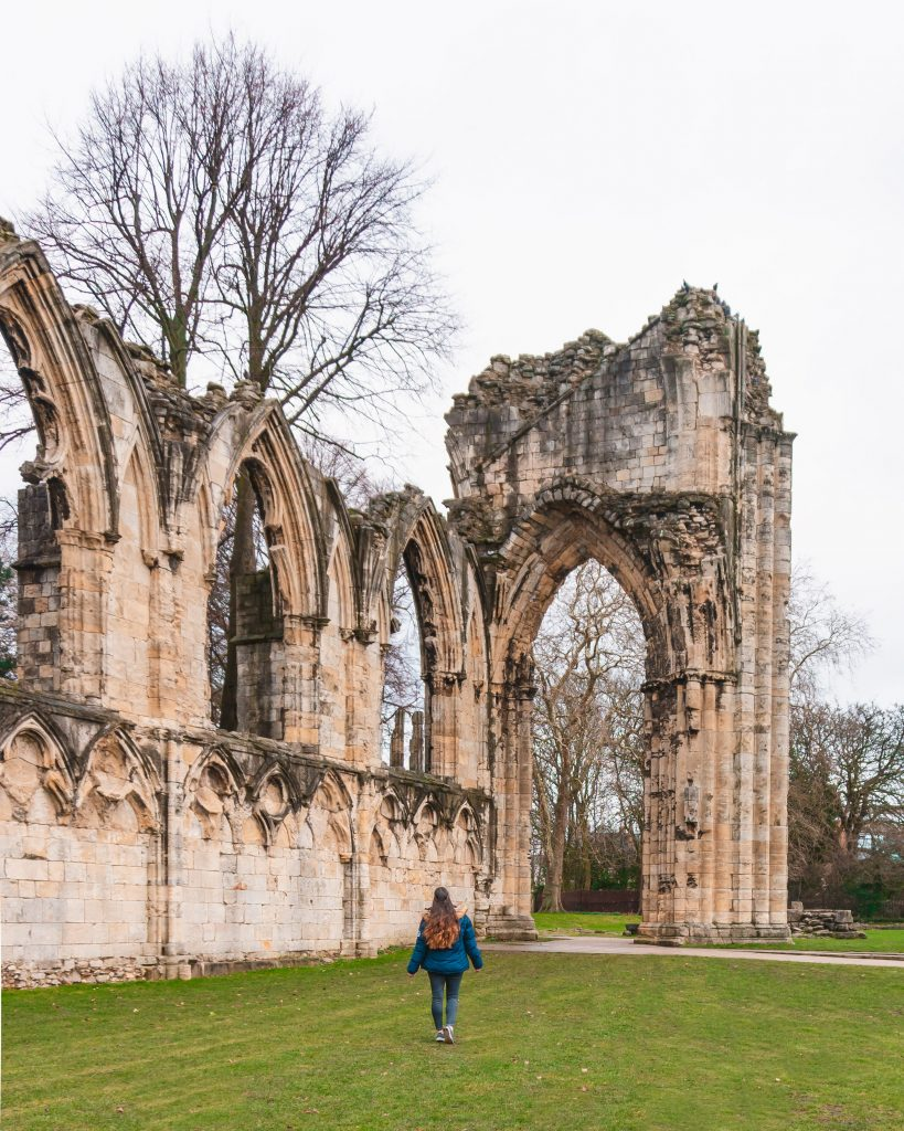 St Mary's Abbey in the York Museum Gardens is a beautiful place to visit when in York!