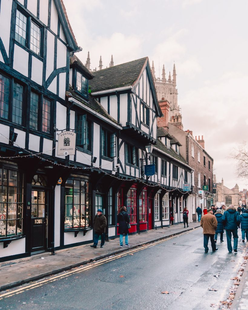 The Shambles is somewhere you can't miss on a weekend in York!