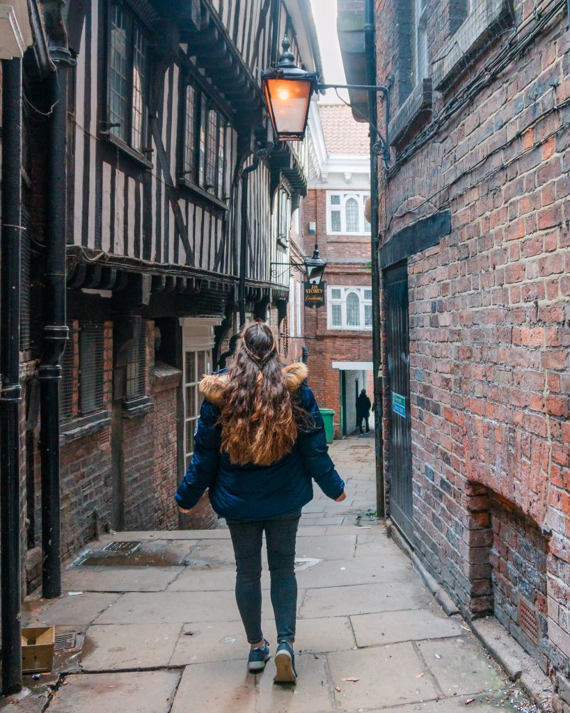 Lady Peckett's Yard is one of the prettiest streets in York, or snickelway. Don't miss it when you visit York!