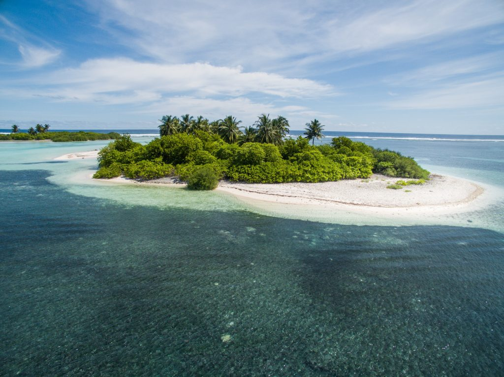 Island nations are some of the least visited countries in the world because they are often remote and difficult to get to