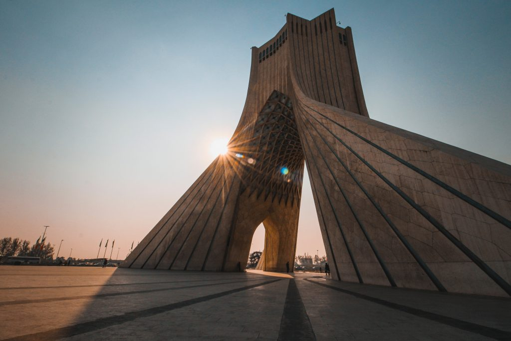 Iran is a destination you never thought of visiting - that definitely sounds better than off the beaten path and is more accurate.
