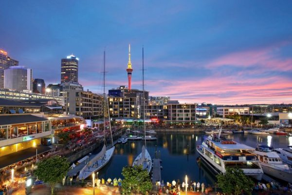 Auckland is a great city for a night out in New Zealand