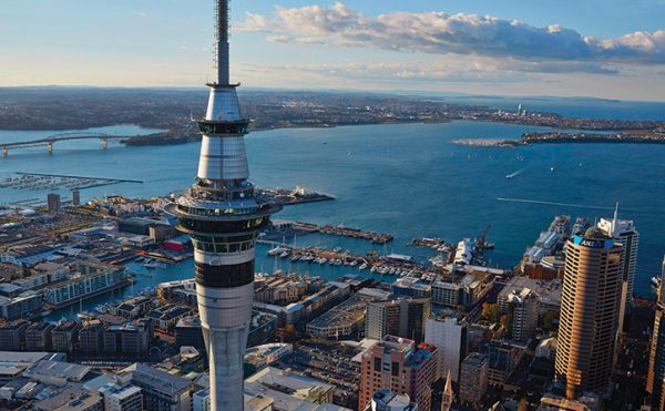Don't miss a visit to the spectacular Sky Tower in Auckland, New Zealand