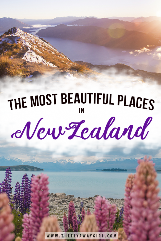There are so many beautiful places in New Zealand that you can't miss! Enjoy 50+ photos of amazing places throughout the country to inspire your New Zealand travel, including both North Island and South Island destinations. #newzealand #newzealandtravel