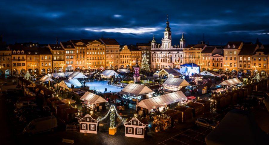 Ceske Budojovica is a beautiful Christmas market in the Czech Republic