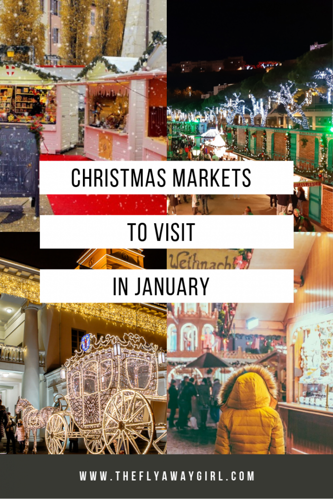 If you're looking to adventure to some Christmas markets in January, then I have rounded up all of the festive fun still on offer into 2019.