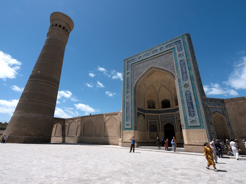 Uzbekistan is often called 'off the beaten path' since it isn't yet popular with many Western tourists.