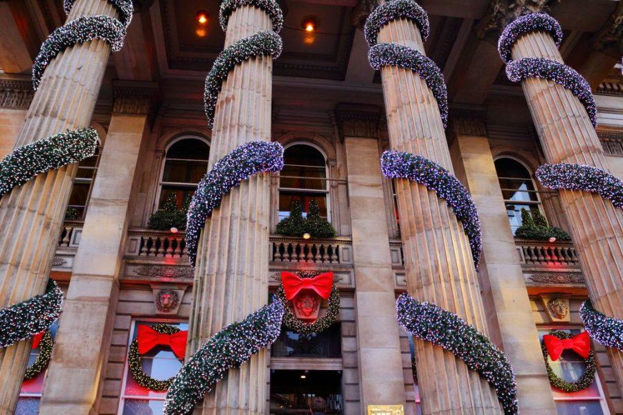 The Edinburgh Christmas market is a beautifully festive market in the UK