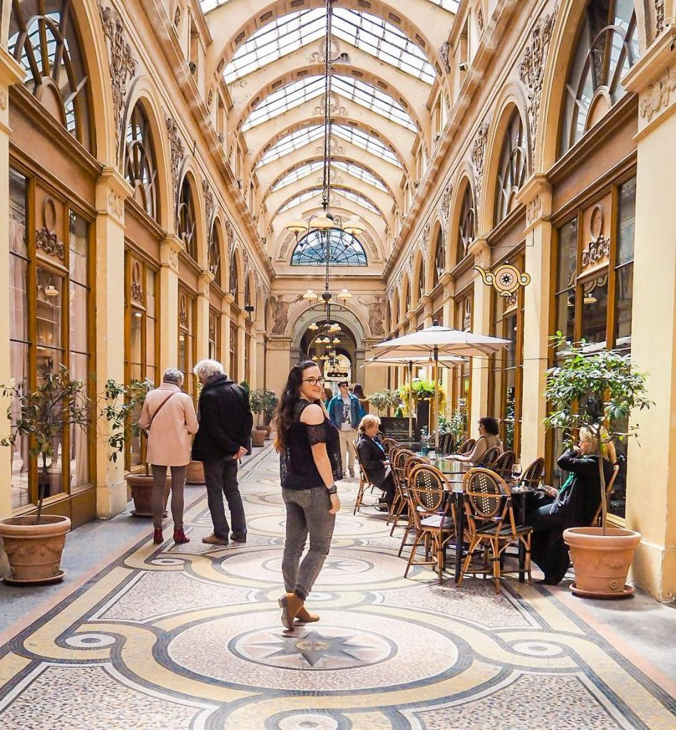 One of the best Paris hidden gems is the beautiful Galerie Vivienne, a covered shopping street near Palais Royal