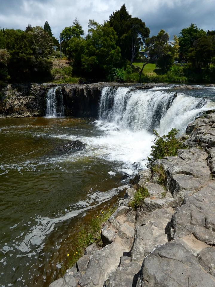 When in Paihia, don't miss a visit to the impressive Haruru Falls