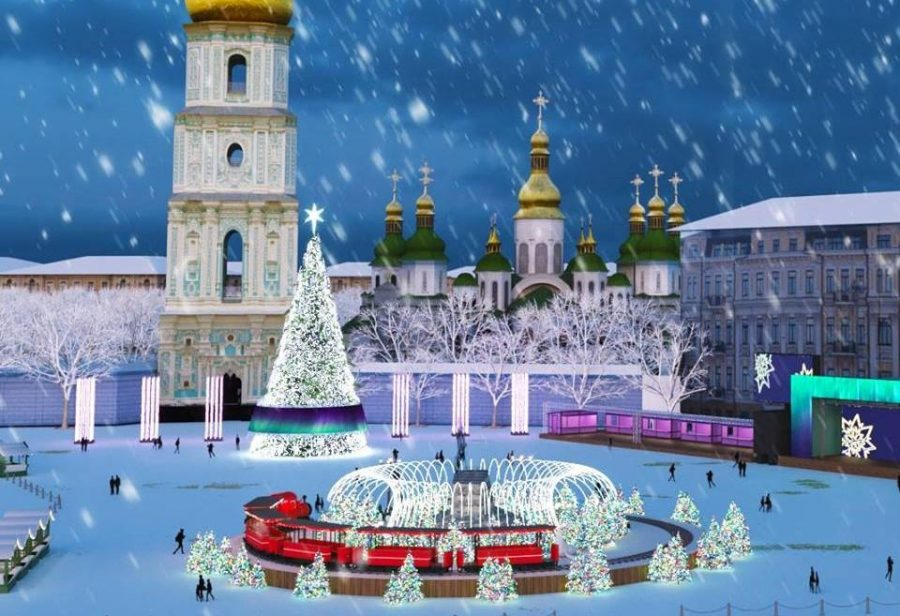 With ice rinks, huge Christmas trees, carousels and more, Kiev's Christmas markets are a must visit in January