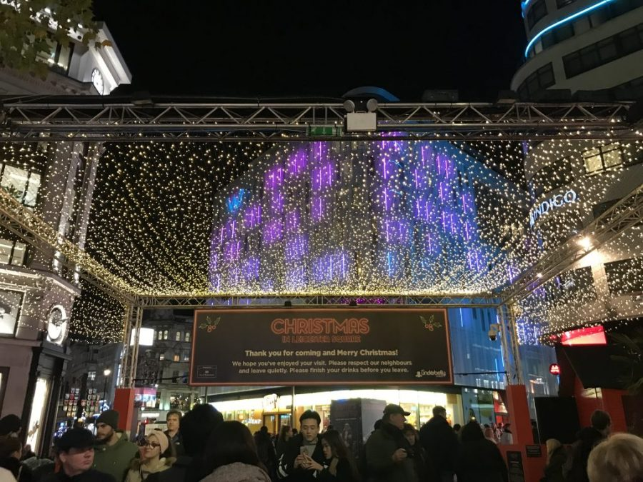 Don't miss Christmas in Leicester Square for some festivities in central London