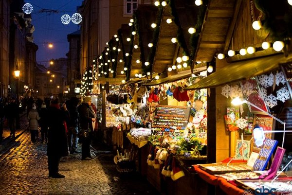 Lviv Christmas market is one of many Christmas markets in January 2019