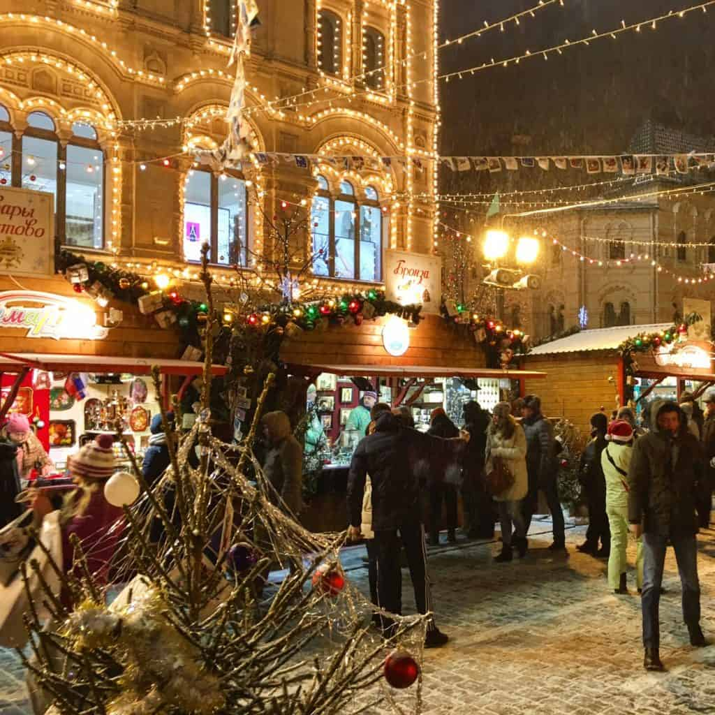 Moscow has one of the most beautiful Christmas markets