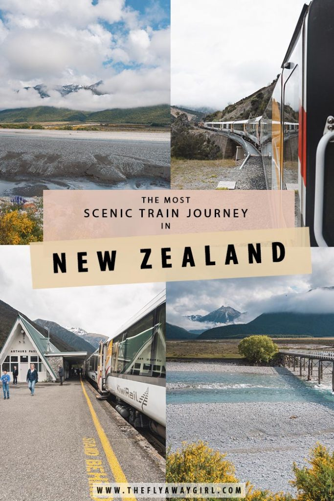 Looking to travel New Zealand by train? Here is all the information you need to know about the TranzAlpine Train Journey from Christchurch to Greymouth! Rated as the most scenic train journey in New Zealand and one of the best in the world, this trip isn't to be missed!