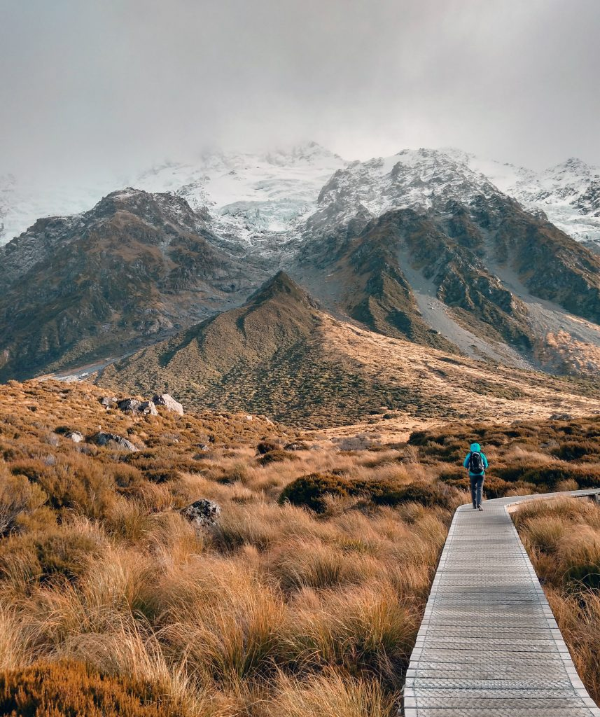 Mount Cook is the highest mountain in New Zealand and one of the most beautiful places in New Zealand!