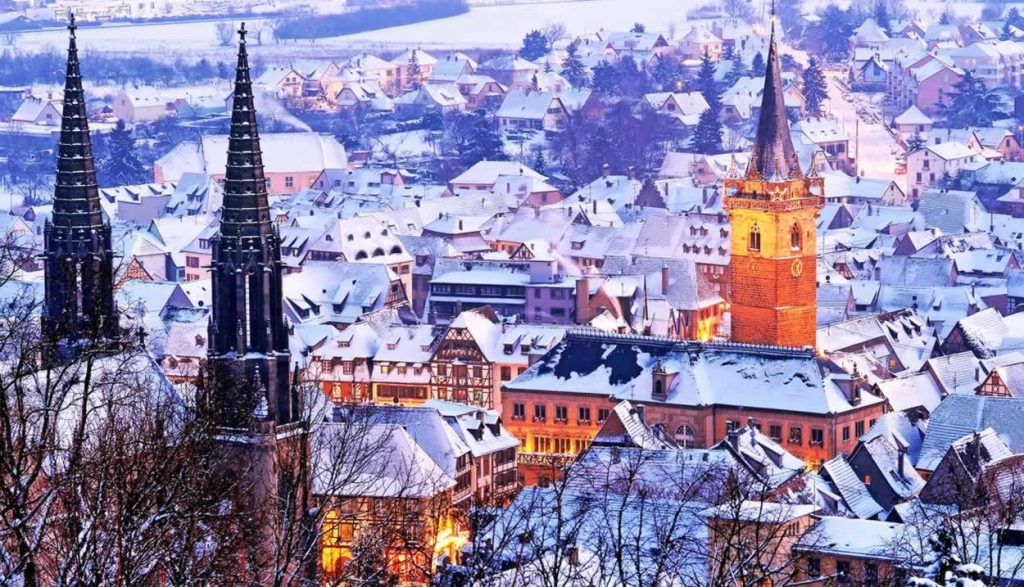 Visit the Obernai Christmas market in January for more festive fun