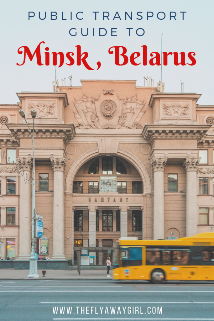 If you are travelling to Belarus then don't miss this guide to public transport in Minsk. While the systems can seem intimidating at first, it's simple once you know the basics! Enjoy your Minsk travel and explore stress-free with these #traveltips for #Minsk #Belarus