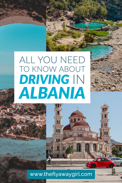 Looking to travel Albania? Here is everything you need to know about driving in Albania to ensure that your Albania trip is as stress-free as possible! #albania