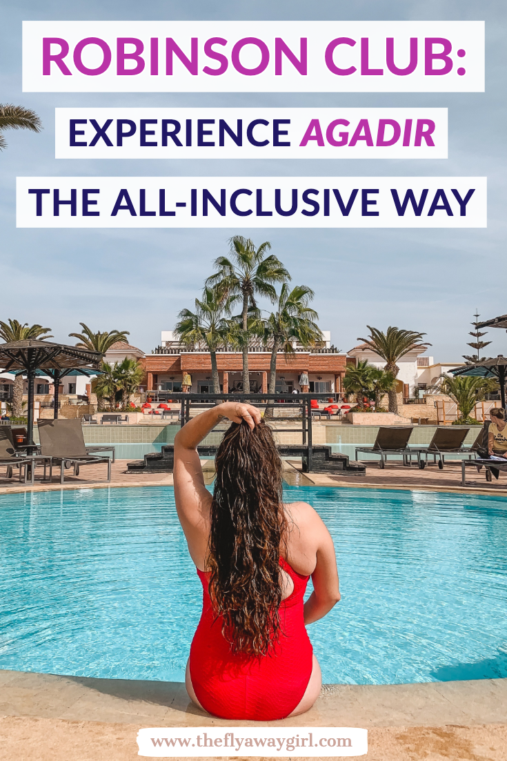 If you're looking for a luxury all inclusive resort to relax in Morocco then don't miss ROBINSON Club Agadir. One of the best things to do in Agadir is to chill at the beach or pool and relax, as well as day trips from Agadir and you can even learn to surf in Agadir as well. Don't miss this luxury hotel resort when you visit Agadir! #agadir #morocco #marokko